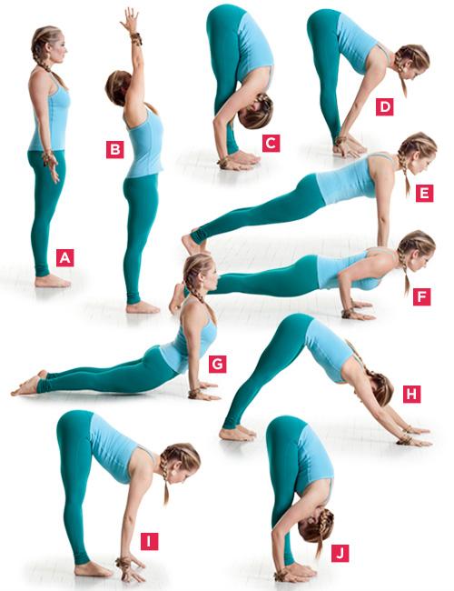 Yoga The Sun Salutation Now Called Cardio Yoga Also